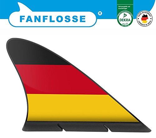 carstyling XXL Die Fanflosse - das Original Deutschland Flagge Fanartikel WM ~ schneller Versand innerhalb 24 Stunden ~