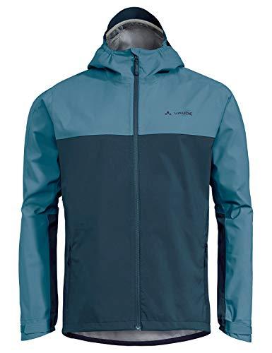 VAUDE Herren Jacke Men's Moab Rain Jacket, Blue Gray, M, 40848