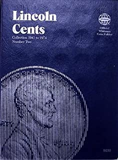 Lincoln Cents Folder #2, 1941-1974