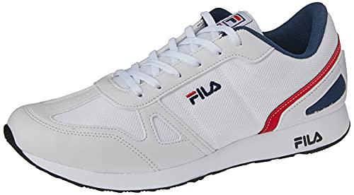 Tênis Fila Classic Runner, Masculino, Branco/Marinho/Vermelho, 41