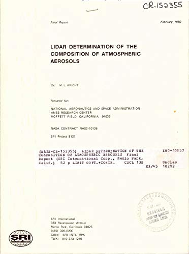 Lidar determination of the composition of atmosphere aerosols (English Edition)