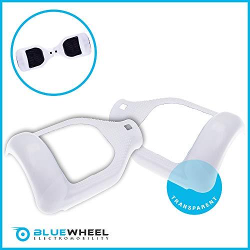 Bluewheel Silikon Schutzhülle für 6,5 Zoll Self Balance Scooter Smart Elektro Scooter E-Balance (Transparent)