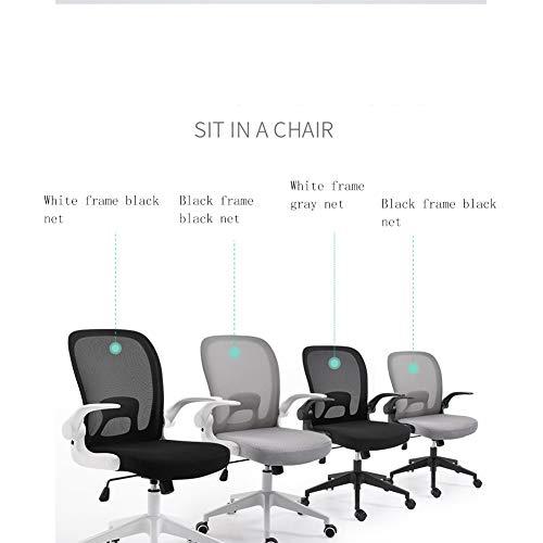 Silla giratoria para computadora de oficina, sillón reclinable para silla giratoria, cuero,Silla giratoria simple, silla de oficina para sala de conferencias, silla plegable para computadora, silla d