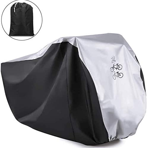 Viaky Outdoor Bicycle Cover for Two Bike Mountain Bike Road Cycle Cover for 2 Bikes with Storage product image
