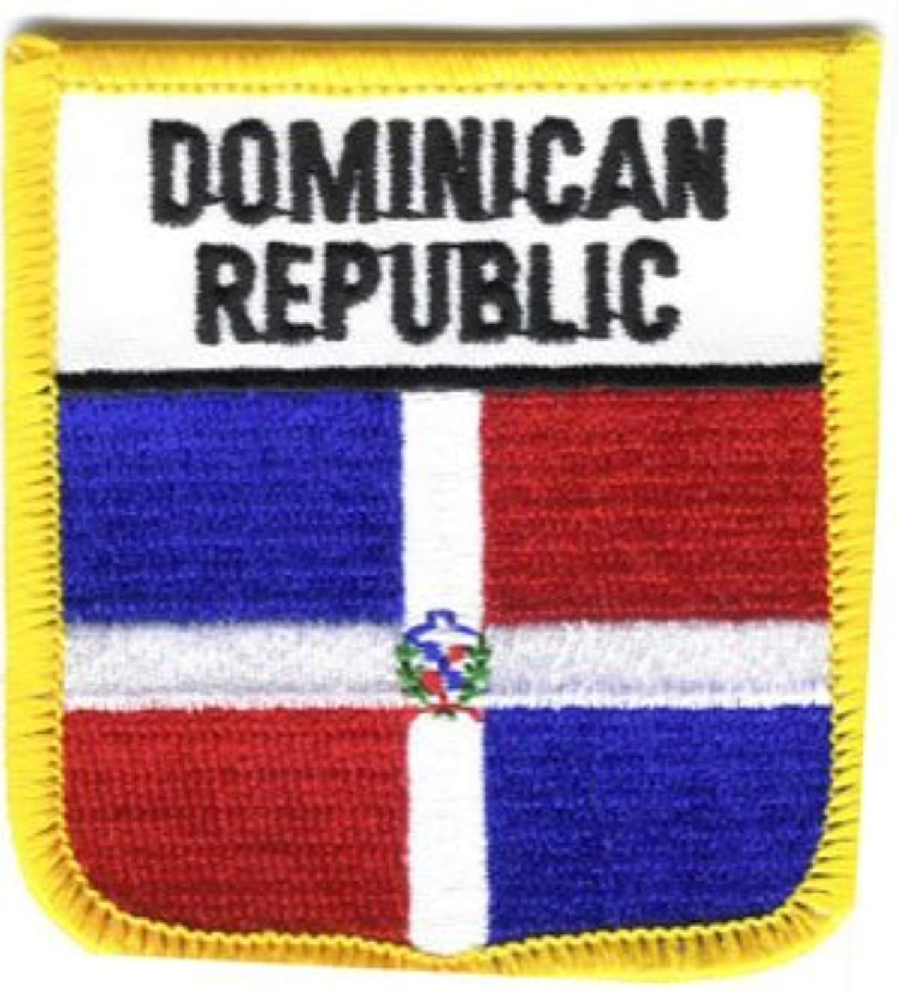 Flagline Dominican Republic - Country Shield Patch