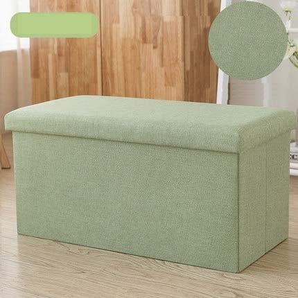 Haus Dekoration Rechteckiger Baumwoll-Stuhlhocker-Hocker kann SIT SIT SIT AUTZ-Sofa-Hocker-Schuhbank Home Aufbewahrungsbox Multifunktionsfunktion (Color : 6)
