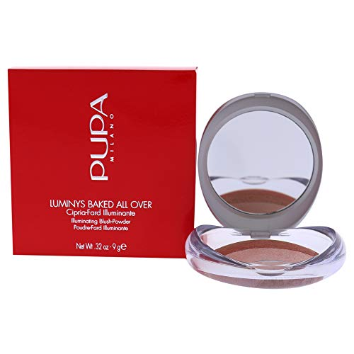 PUPA Milano Luminys Baked All Over Illuminating Blush-Powder, Stripes Rose 9 g