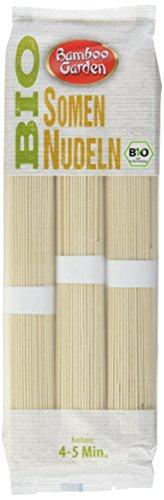 Bamboo Garden Bio Vollkorn Somen Nudeln, 4er Pack (4 x 250 g)