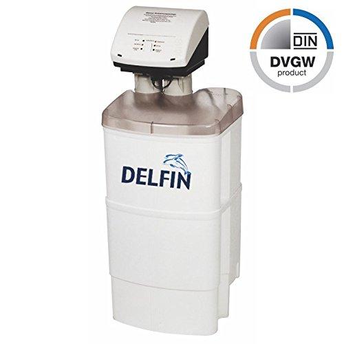 DVGW geprüfte Enthärtungsanlage Duplex/Pendelanlage DELFIN Wasserenthärter Entkalkungsanlage Wasserentkalker 1-8 Personen Doppelenthärtungsanlage