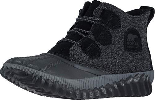 Sorel Out 'N About Plus Black Wool 7 B (M)