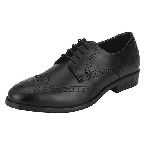 Bond Street by (Red Tape) Men's Bse0311 Black Formal Shoes-9 UK (43 EU) (BSE0311-9)