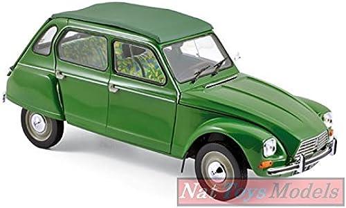 NOREV NV181621 Citroen Dyane 6 1975 TUILERIES Grün 1 18 MODELLINO DIE CAST