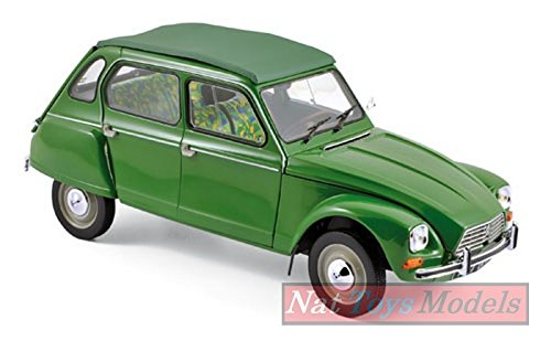 NOREV NV181621 Citroen Dyane 6 1975 TUILERIES Green 1:18 MODELLINO Die Cast