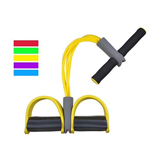 ZXJOY Core & Abdominal Trainers Tubo de remo, Shape-up trainer, Pull Rope...
