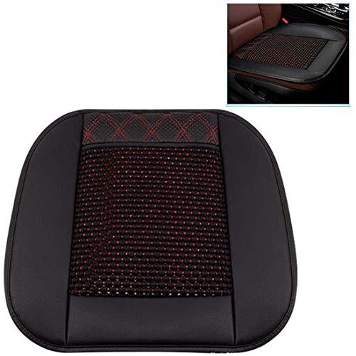 SHG CAR Multifunktionale Auto-Sitzkissen-EIS-Silk kühle Auflage 12V / 24V eingebautem Ventilator-Auto-Sitz Cooling Pad Fit Die meisten Auto-LKW Van SUV,Schwarz,DC24V