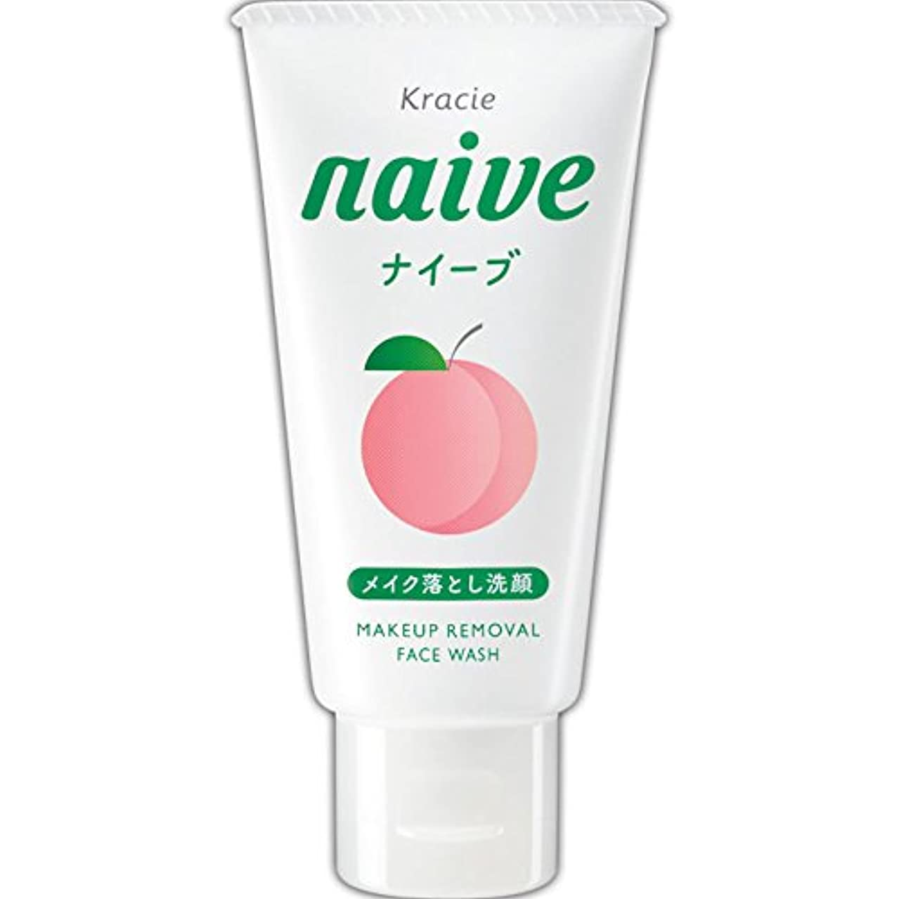 忠実に売り手発見ナイーブ メイクも落とせる洗顔フォーム 桃の葉ミニ 45g