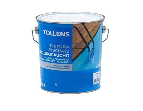 Pintura Piscinas al Clorocaucho Alp - 4 L, Azul Medio