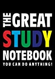 The Great Study Notebook (You can do anything!): (Black Edition) Fun notebook 192 lined pages (A4 / 8.27x11.69 inches / 21x29.7cm)