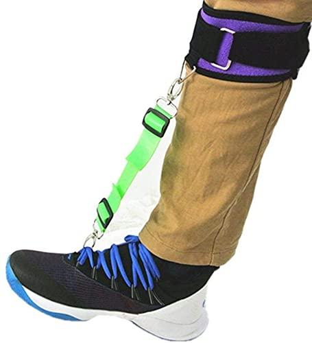 LiuliuBull 1 Ordenador Personal Camilla de la Pierna, Soporte Plantar de la ortesis de la Fasciitis de la ortesis para los pies Izquierdo y Derecho del Soporte de la Abrazadera del pie