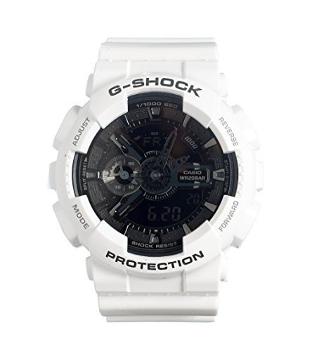 Casio G-Shock GA-110 Garish Trending Series Men's Luxury Watch - White / One Size