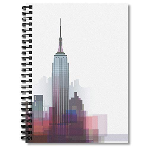 Spiral Notebook New York Nyc City Composition Notebooks Journal With Premium Thick Paper