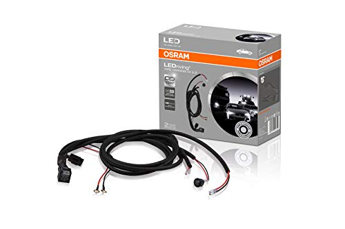 OSRAM LEDriving WIRE HARNESS AX 2LS, arnés de cableado para tiras de luces de coche,kit de arnés de cableado de barra de luces,juego de cables, adaptador para faros de coche