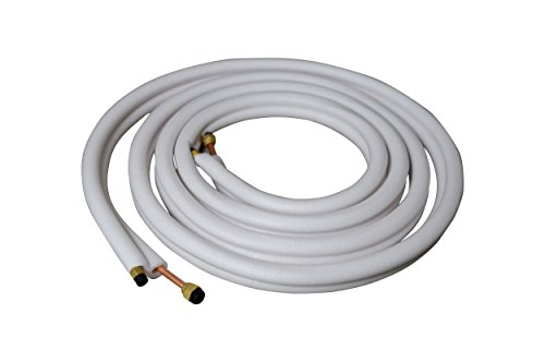 12,5m Kupferleitung 1/4 + 3/8 Zoll doppel Kältemittelleitung