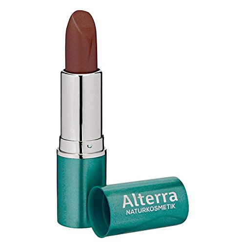 Alterra Lippenstift 1 Stück Farbe 04: Bronze Metallic, zertifizierte Naturkosmetik