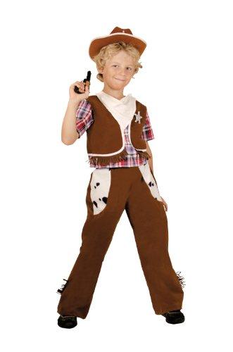 César - Disfraz de vaquero para niño, talla 8-10 años (F183-003)