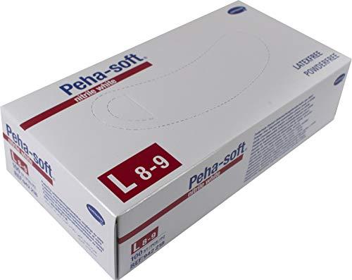 Hartmann Peha Soft Handschuhe, weiß, L 8-9, 100 Stück