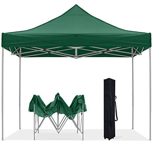 OUTDOOR WIND 10X10FT Pop Up Canopy Tent Heavy...