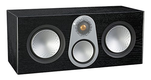 Fantastic Deal! Monitor Audio Silver C350 Center Channel Speaker Black Oak