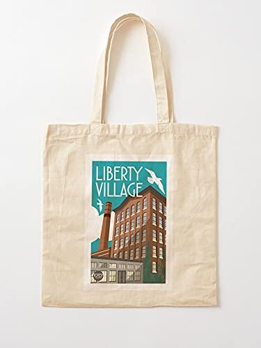 Carolyn Liberty Village Toronto - Bolsas de lona con asas, algodón duradero