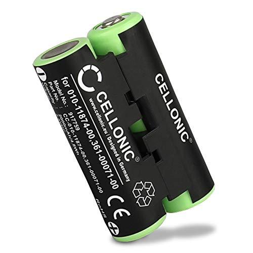 CELLONIC® Batteria Compatibile con Garmin Striker 4 Oregon 600 600t, 650 650t 700 750 750t GPSMAP 64s Alpha 50 Atemos 50 Astro 430 320, 010-11874-00 361-00071-00 2000mAh accu Ricambio Sostituzione