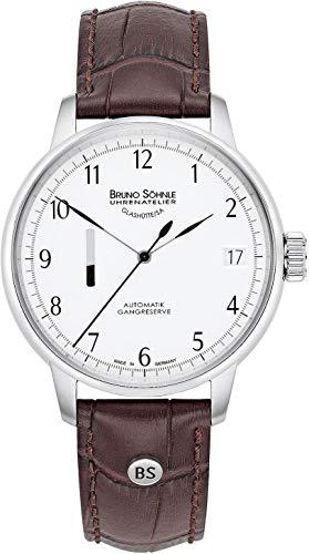 Bruno Söhnle Glashütte Herren Uhr 17-12206-221 Sellita SW20 Automatik