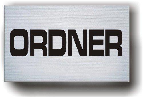 Unbekannt Armbinde Ordner, weiß / 3304