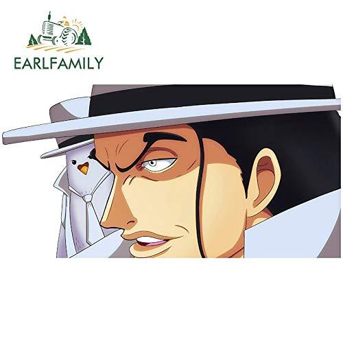 A/X 13 cm x 6,7 cm für Anime One Piece Rob Lucci Wasserdichter Aufkleber Okklusion Kratzer Persönlichkeit DIY Anime Auto Aufkleber