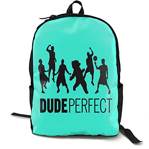 YvetteECissie Du_De Poster Pe_Rfect - Mochila de viaje para portátil al aire libre, mochila escolar para adultos o niños