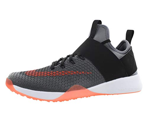 Nike Womens Air Zoom Strong Running Trainers 843975 Sneakers Shoes (UK 5.5 US 8 EU 39, Cool Grey Total crimsion Black 006)