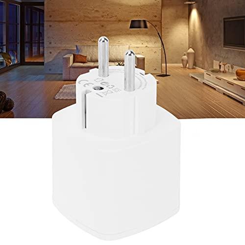 Zócalo elegante de WiFi, zócalo del control de voz del enchufe 100-240V de la UE para el hogar de Google para el uso en el hogar
