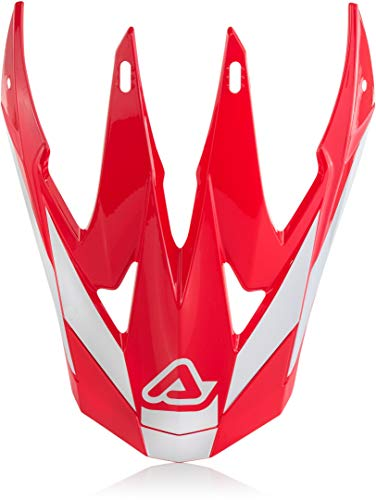 Visière Helmet x-racer VTR Rouge/Blanc