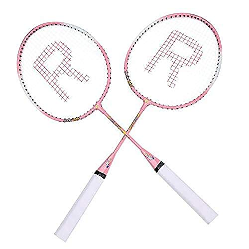 Cxky Durable Badmintonschläger Profi Badmintonschläger Leichtgewichtler Eisenlegierung Badmintonschläger for Kinder Teenager-Alter, for Kinder Kinder Trainings-Praxis