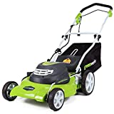 Greenworks 20-Inch 12 Amp Corded Lawn Mower 25022 (Certified Refurbished)