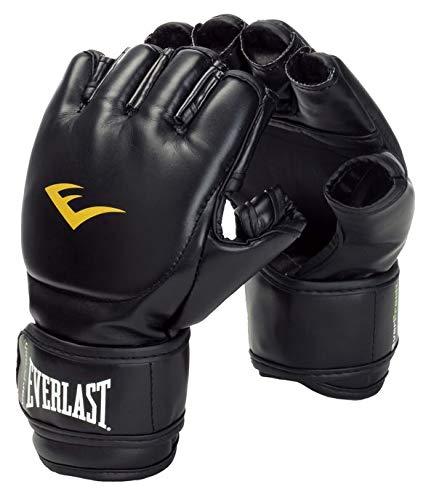 Everlast 7560 Guantillas MMA, Unisex Adulto, Negro, L