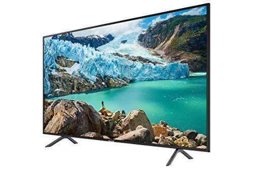 """Samsung 55"""" RU7100 4K Ultra HD Smart TV (2019) (UN55RU7100FXZC) [Canada Version], Charcoal Black"""