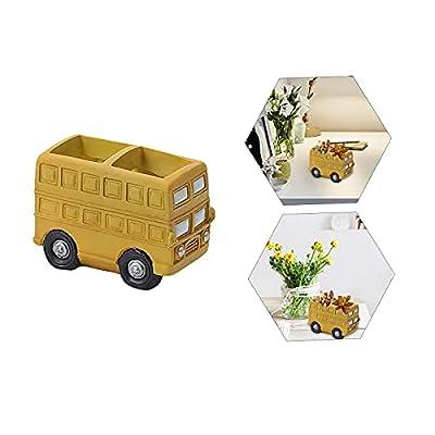 Amazon - Save 80%: Home Furnishing Creative Succulent Cartoon Car Flower Pot Mini Garden D…