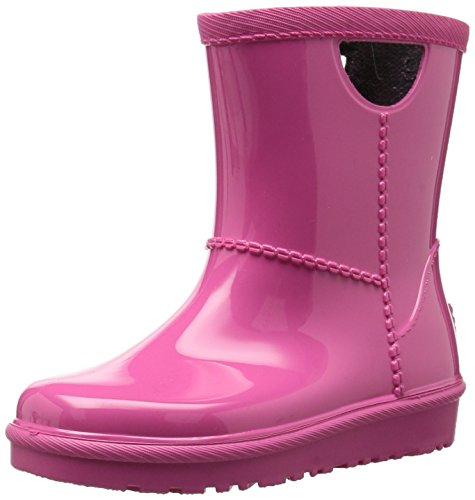 UGG Girls T Rahjee Rain Boot, Diva Pink, 12 M US Little Kid