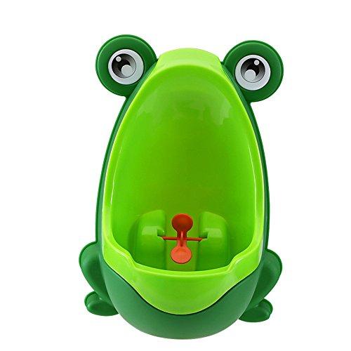 Nykkola - Orinatoio per bambini con mulinello, motivo: rana