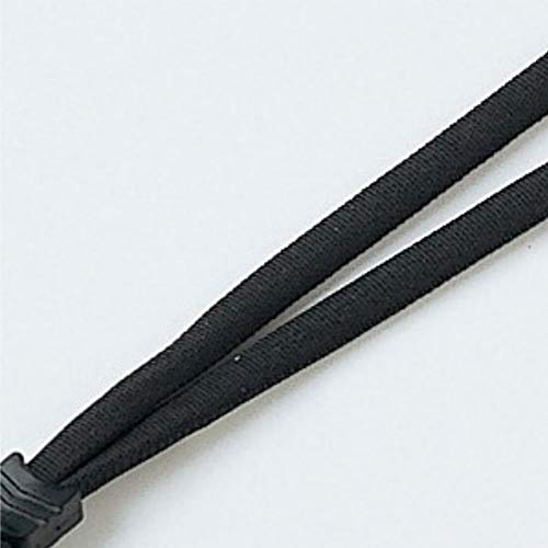 サンワサプライネックストラップ(丸紐)ブラックDG-ST8BK