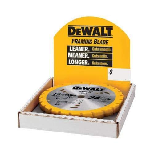 Dewalt Accessories DW3578B10 7.25-Inch 24-TPI Carbide Saw Blade - Quantity 10